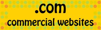 .com commerical websites