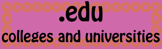 .edu colleges and universities