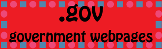 .gov government webpages