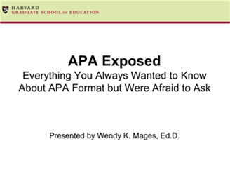 APA Exposed Video