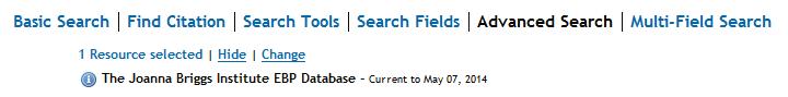 advanced and multi field search