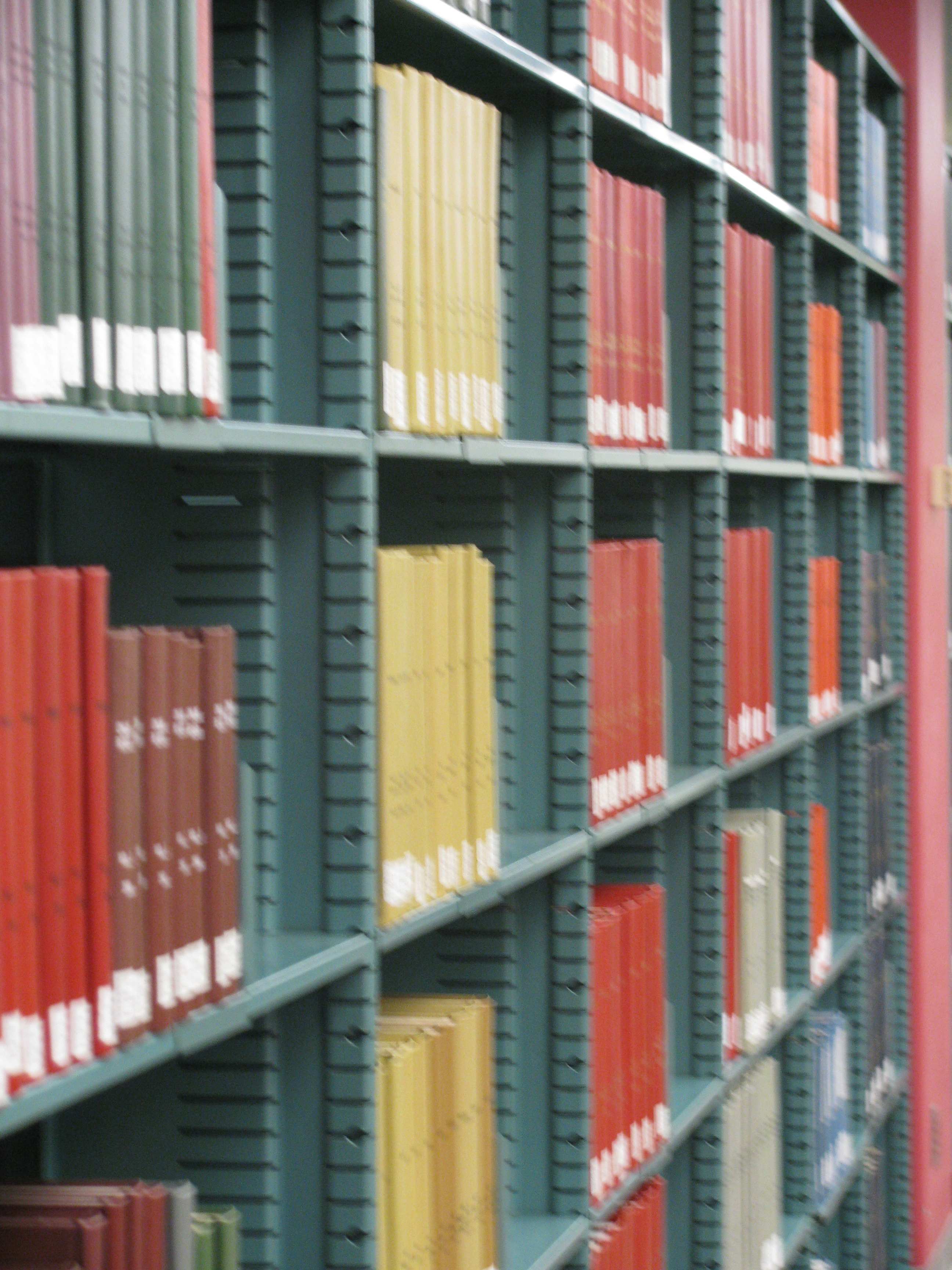 PUC Library Stacks