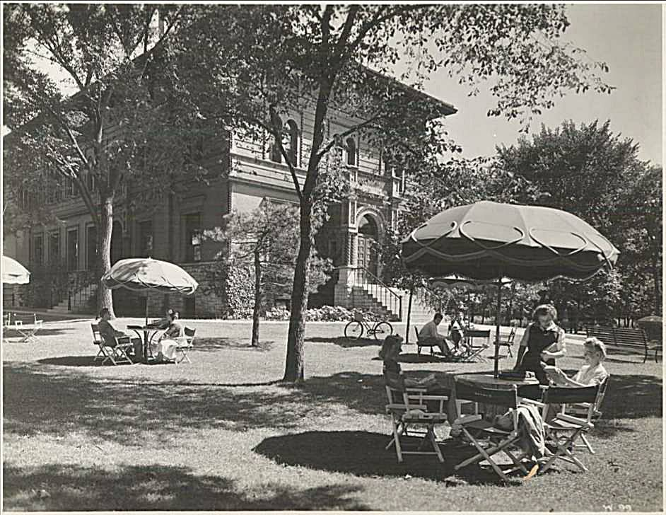 Annie May Swift Hall, 1940s