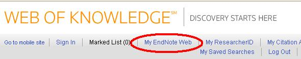 myendnote authentication
