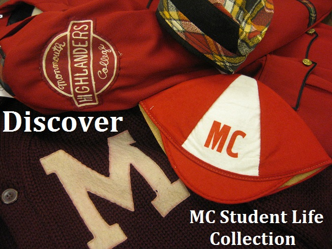 Discover the MC Student Life Digital Collection