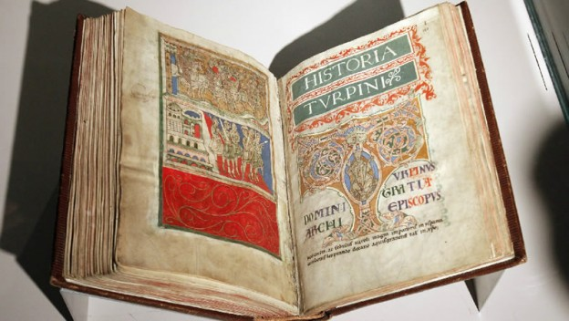 image of codex Calixtinus
