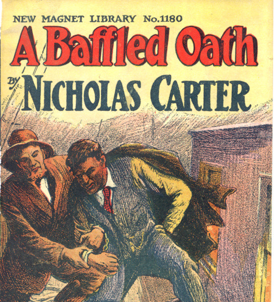 Image of cover of a pulp fiction novel.