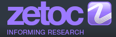 Zetoc - informing research logo