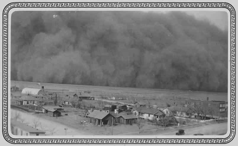 Dust Storm in Rolla, Kansas