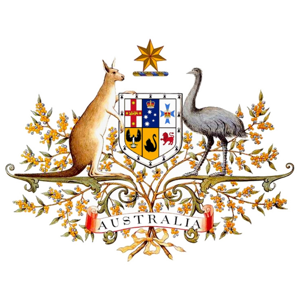 Australia's official coat of arms