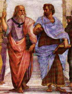 Plato and Aristotle by Raphael