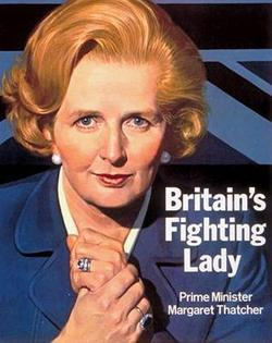 Mrs Thatcher from the Conservative Party website