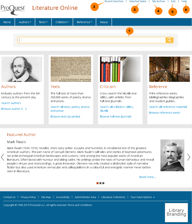 LION homepage
