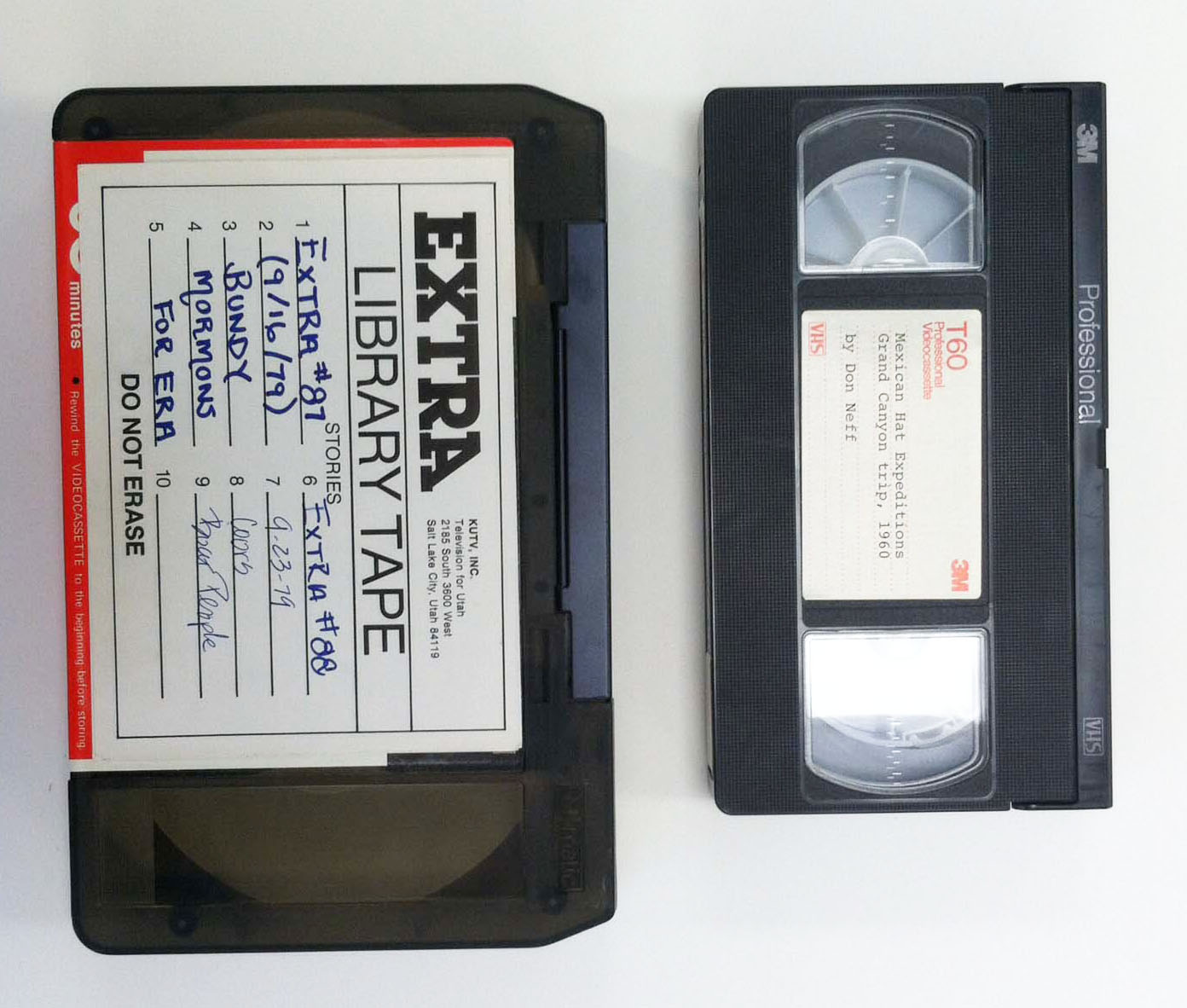 Image of UMatic and VHS