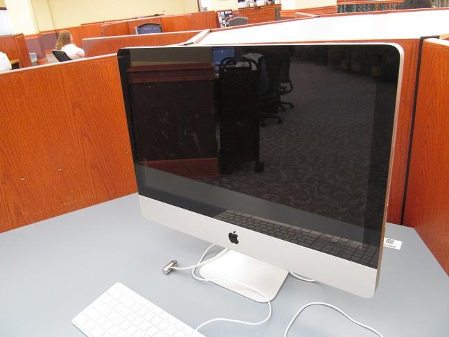 image of InfoCommons computer