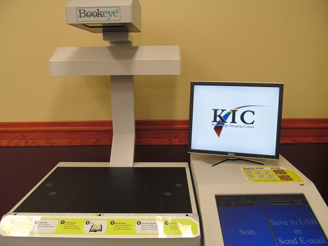 image of book scanner