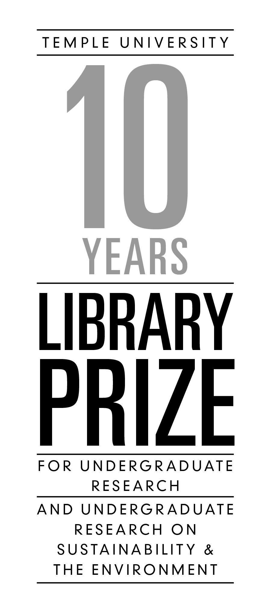 Library Prize Logo