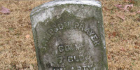St. Paul Chapel Cemetery Grave Marker