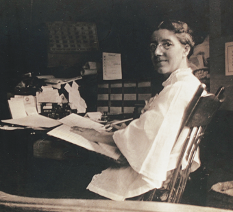 Photograph of Charlotte Perkins Gillman