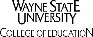 Wayne State College of Education logo