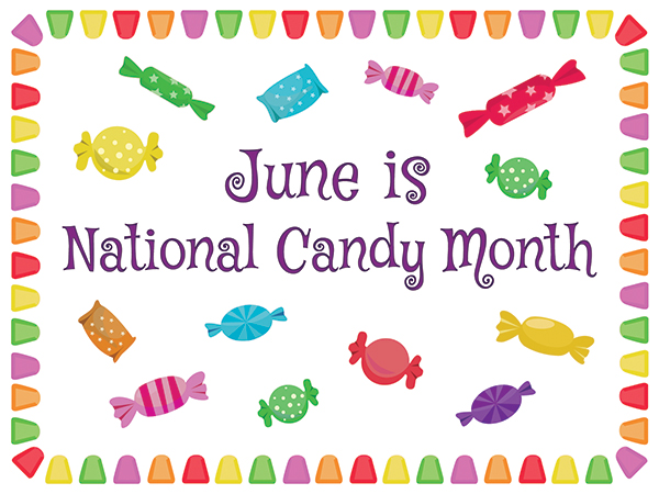 June is National Candy Month