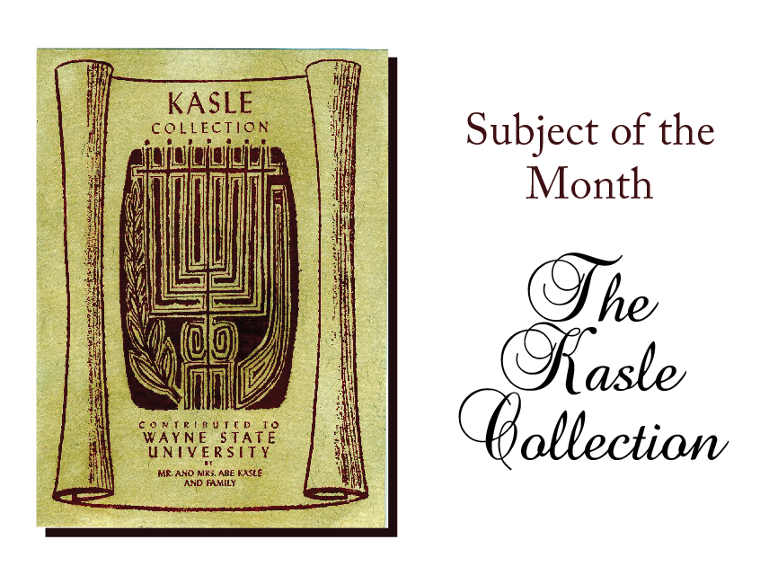 Kasle Collection Subject of the Month Sign