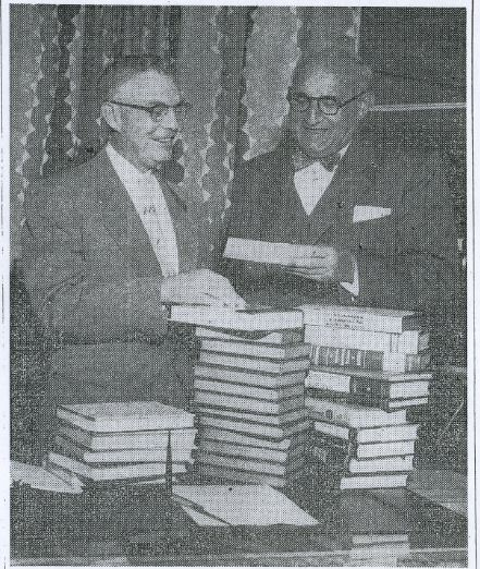 Abe Kasle and Dr. G. Flint Purdy