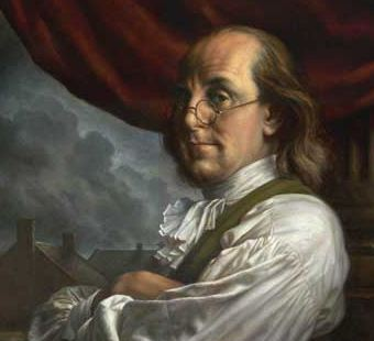 From a painting of Benjamin Franklin