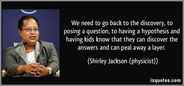 Shirley Jackson Physicist Quote
