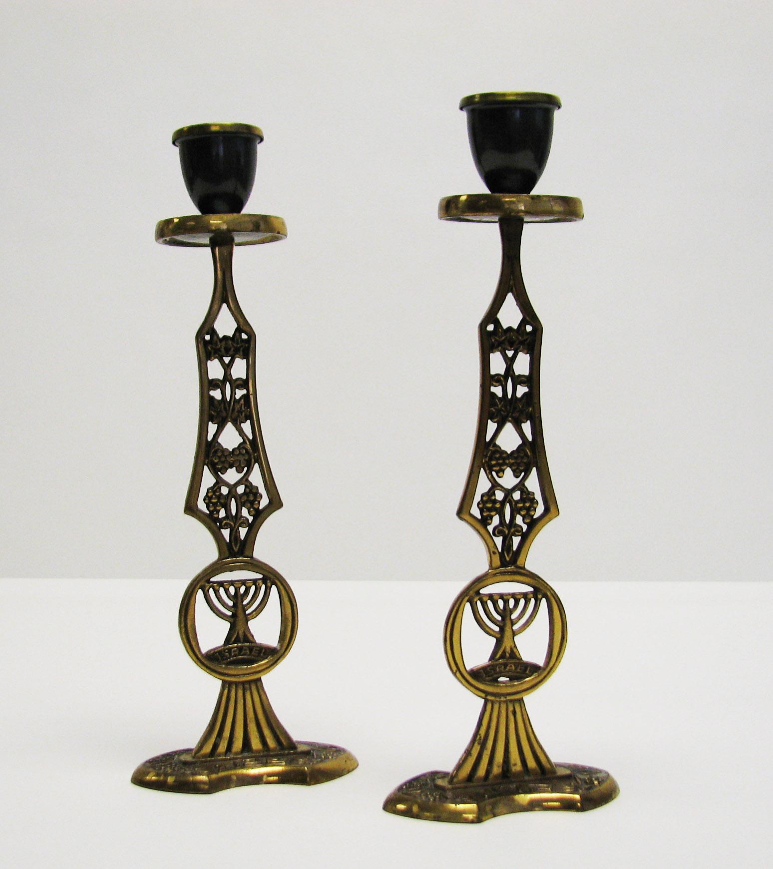 Shabbat Candle Holders