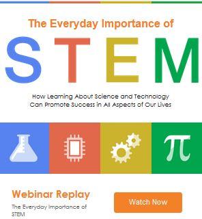 Teaching STEM webinar image
