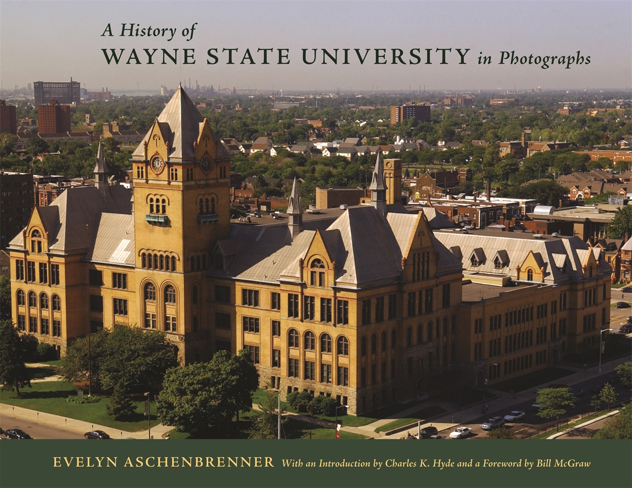Wayne State University in Photographs Book Cover