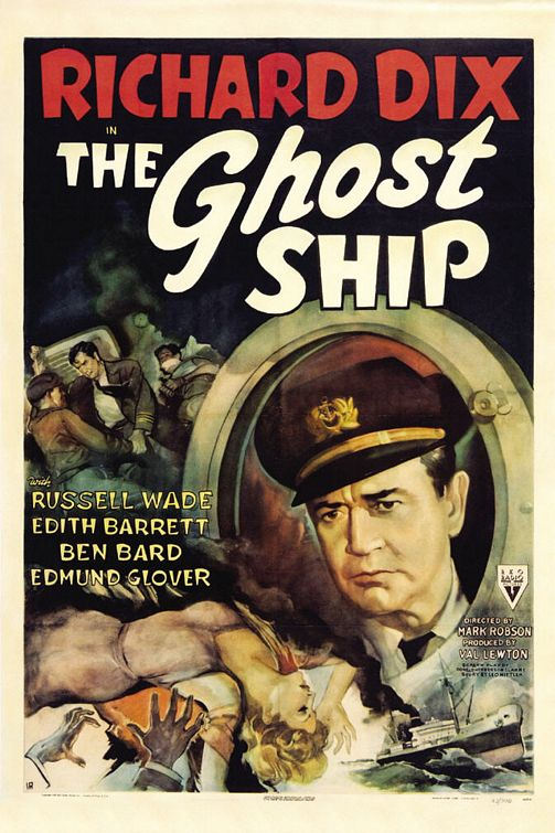 movie poster for Ghost Ship