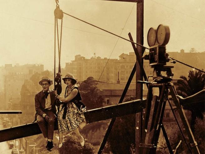 film still from Look Out Below