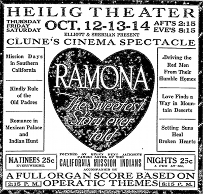 image of a cinema advertisment