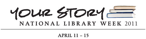National Library Week Banner