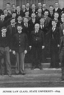 Senior Law Class, 1895
