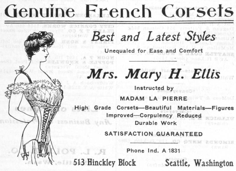 Mrs. Mary H. Ellis Advertsing Co., 1906