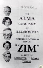 Alma advertising P.225/NO.697 17427,17430