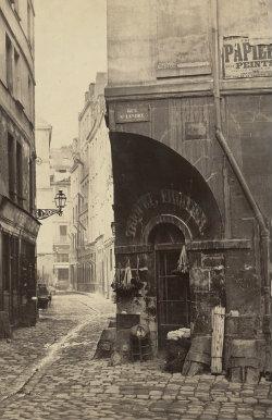Rue des Marmousets de la rue St. Landry Charles Marville H88.19/68