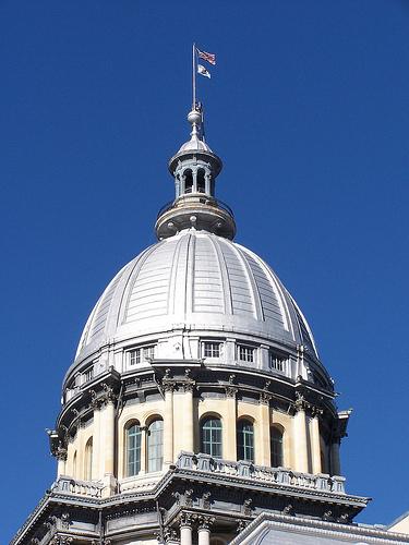 Illinois State Capitol Dome exterior