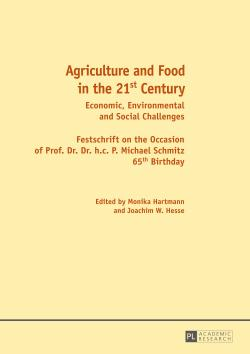 Agriculture and Food in the 21st Century : Economic, Environmental and Social Challenges