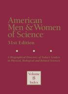 American Men & Women of Science, 2013