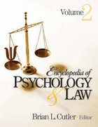 Encyclopedia of Psychology & Law