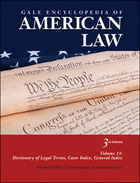 Gale Encyclopedia of American Law (GVRL)