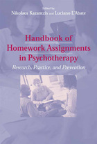 Handbook of Homework Assignments in Psychotherapy: Research, Practice, and Prevention (GVRL)