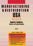Manufacturing & Distribution USA: Industry Analyses, Statistics and Leading Companies 2013 (GVRL)