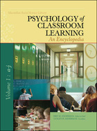 Psychology of Classroom Learning: An Encyclopedia (GVRL)