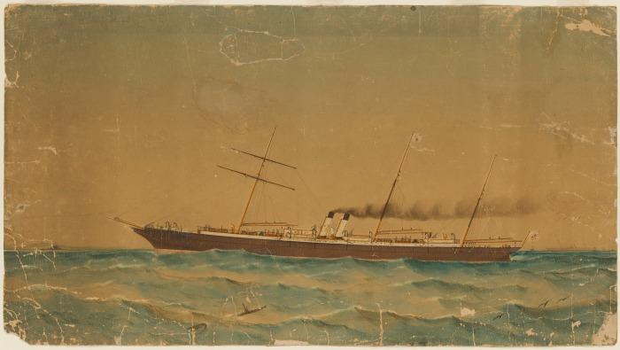 S.S Ly-ee-Moon, Sydney, 1886