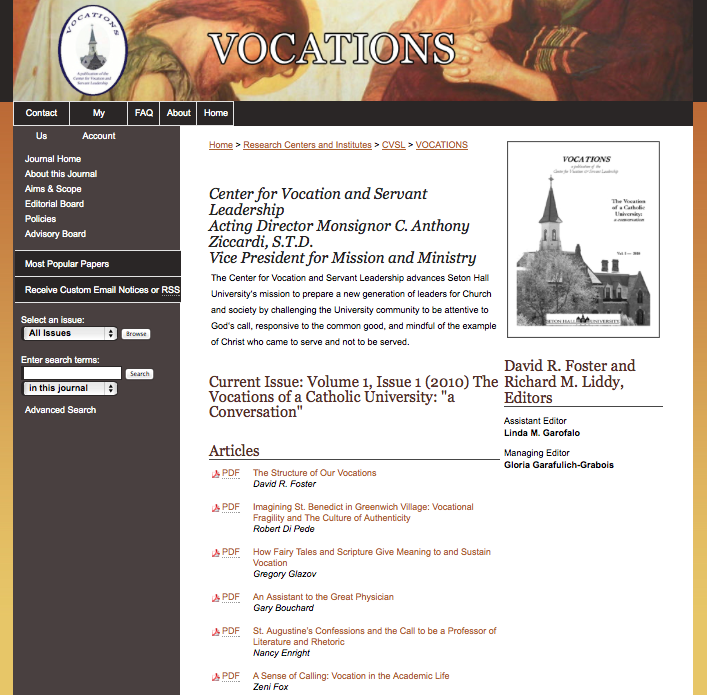 Open Access Journal example